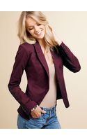 Victoria's Secret Fitted One Button Jacket - Lyst