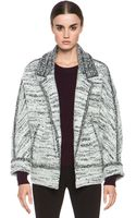Isabel Marant Ioline Boiled Wool Jacket - Lyst