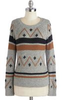 ModCloth The Sooner The Sweater - Lyst