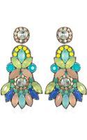 Suzanna Dai Tropicalia Chandelier Earrings - Lyst