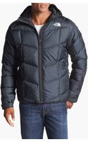 The North Face Gatebreak Water Repellent 550fill Hooded Down Jacket - Lyst