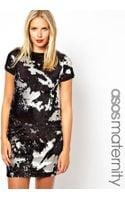 Asos Maternity Tshirt Dress with Camo Embellishment - Lyst