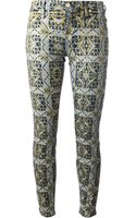 7 For All Mankind Printed Jeans - Lyst