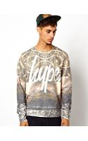 Rock Revival Hype Mountain Range Sweatshirt - Lyst