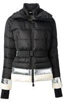 Moncler Grenoble Metallic Trim Padded Jacket - Lyst