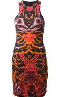 McQ by Alexander McQueen Printed Shift Dress - Lyst