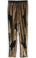 Robert Rodriguez Distressed Sequin Track Pant - Lyst