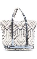 Vanessa Bruno Cabas Small Printed Canvas Shopper - Lyst