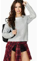 Nasty Gal Space Academy Sweater - Lyst