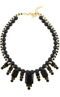 Joomi Lim Beaded Baroque Crystal Necklace - Lyst