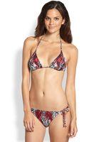 Etro Twopiece Printed String Bikini - Lyst