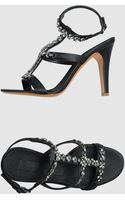 Mugnai Highheeled Sandals - Lyst