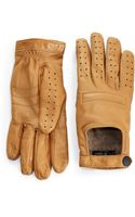 Rag & Bone Racer Woollined Leather Gloves - Lyst