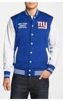 47 Brand New York Giants Powerhouse Varsity Jacket - Lyst