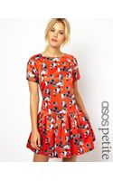 Asos Exclusive Dress in Print  - Lyst