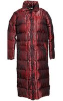Christophe Lemaire Down Jacket - Lyst