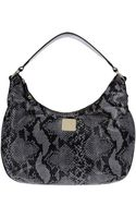 Just Cavalli Large Leather Bag - Lyst