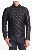 La Marque Quilted Moto Jacket - Lyst