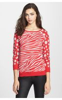 Marc By Marc Jacobs Shebra Intarsia Sweater - Lyst