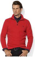 Polo Ralph Lauren Frenchrib Half-zip Mockneck Pullover - Lyst