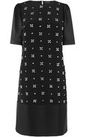 Jaeger Embellished Front Dress - Lyst