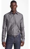 Paul Smith Textured Cotton Shirt - Lyst