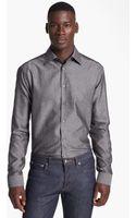 Paul Smith Textured Cotton Shirt - Lyst