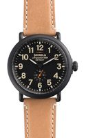 Shinola The Runwell Natural Strap Watch 47mm - Lyst