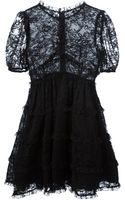 Dolce & Gabbana Pleated Lace Dress - Lyst
