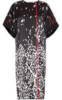 Preen By Thorton Bregazzi Carmen Ss Leopard Silk Dress - Lyst