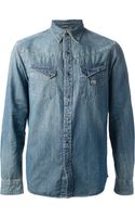 Ralph Lauren Denim Shirt - Lyst