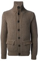 Dondup Ribbed Cardigan - Lyst