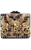 Roberto Cavalli Embellished Clutch - Lyst