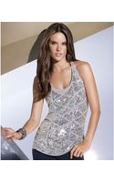 Inc International Concepts Scoop-Neck Sequined Tank - Lyst