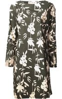 Marni Blossom Print Tunic Dress - Lyst