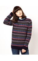 Penfield Intarsia Patterned Sweater - Lyst