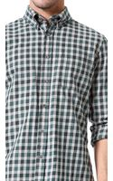 Steven Alan Check Classic Collegiate Shirt - Lyst