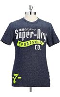 Superdry Graphic Tshirt - Lyst