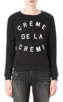 Zoe Karssen Crème De La Crème Sweatshirt - Lyst