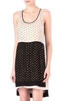 Diane Von Furstenberg Abrielle Crystal Embellished Dress - Lyst