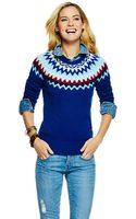 C. Wonder Fair Isle Crew Neck Sweater - Lyst
