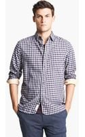 Rag & Bone Plaid Cotton Shirt - Lyst