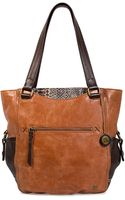 The Sak Kendra Leather Tote Bag - Lyst