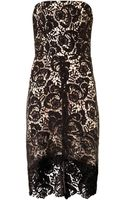 Lover Courtney Strapless Lace Dress - Lyst