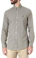 Ralph Lauren Slimfit Check Shirt - Lyst