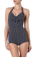 Seafolly Coastline Swimsuit - Lyst