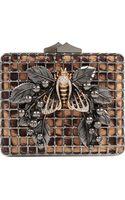 Roberto Cavalli Bumble Bee Clutch Bag - Lyst