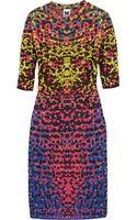 M Missoni Jacquard Knit Dress - Lyst