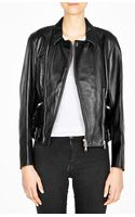 3.1 Phillip Lim Sculpted Leather Motorcycle Jacket - Lyst