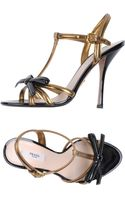 Prada Highheeled Sandals - Lyst